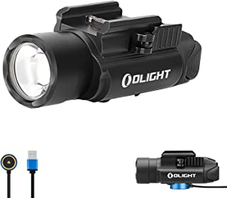 OLIGHT PL-PRO Valkyrie 1500 Lumens NW LED Magnetic Rechargeable Tactical Flashlight with Adjustable Adapter,Built-in Batte...
