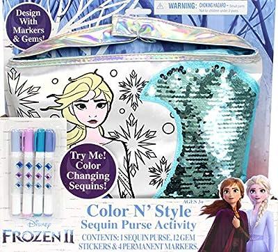 Tara Toys Frozen 2 Color N Style Purse