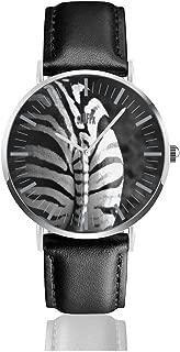 Zebra Ass Mens Watches Fashion Simple Minimalist Waterproof Quartz Analog Watch Designer Luxury Business Classic Dress Wrist Watch