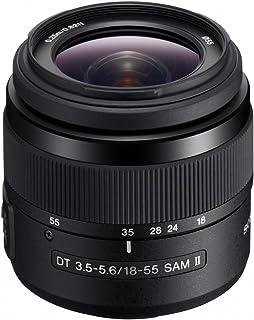 Sony SAL18552, Standard Zoom Objektiv (18 55 mm, F3,5 5,6 SAM II, A Mount APS C, geeignet für A77, A68, A58 Serien)