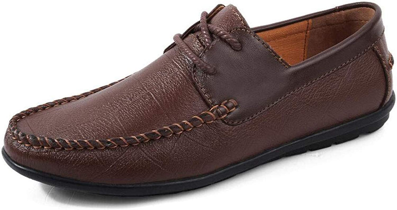 Hy Men's Casual shoes, Spring Fall Lace up Formal Business shoes,Comfortable Driving shoes Formal Business Work