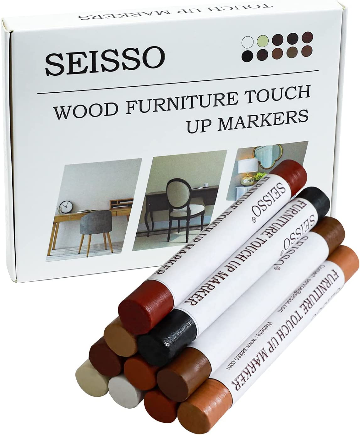 SEISSO Furniture Repair Wax Crayon Max 68% OFF P Colors Kit 10 Selling and selling Wood