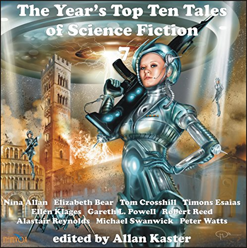The Year's Top Ten Tales of Science Fiction 7 cover art