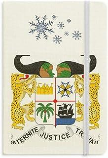 Diario de espesor con diseño de copos de nieve de Benín