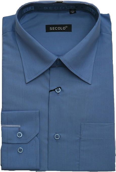 Secolo - Camisa Formal - para Hombre: Amazon.es: Ropa