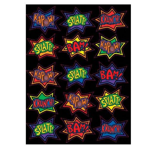 Creative Converting Super Hero Fun 3D Sticker Sheets (4)