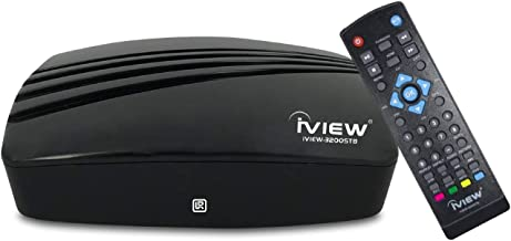 IVIEW-3200STB-N Digital Converter Box Digital to Analog, QAM Capabilities, with TV Recording Function ATSC HDTV Converter ...