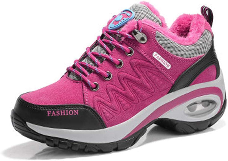 CHENSF Waterproof Warm Hiking shoes Women's shoes Outdoor Walking shoes