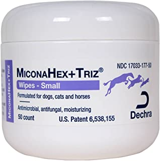 Dechra 50 Count Miconahex +Triz Wipes