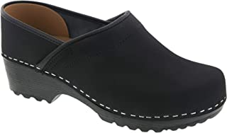 Bjork Karin Swedish Women's Pro Oiled Leather Clogs