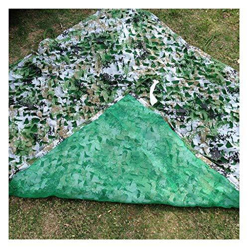 JJWZW Camouflage Netz Tarnnetz 2x3m Outdoor-Moskito-Zelt-Baumhaus-Deko-Netz Eignet Sich für Kinder-Spiele Multi-Size Und Multi-Color für schattenspendende Gärten im Freien (Color : F, Size : 4 * 4m)