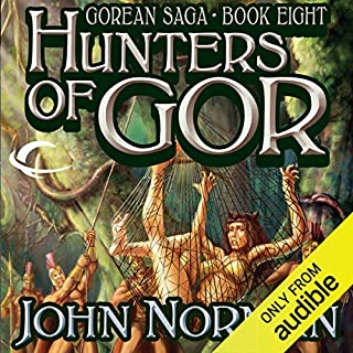 Hunters of Gor cover art