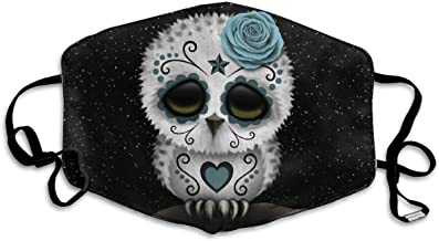 Gtiandewenhuachu Cute Teal Dead Skull Owl Anti-sto...