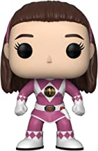 Funko Pop Television: Power Rangers - Pink Ranger (No Helmet) Collectible Figure, Multicolor
