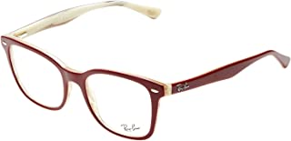 Ray-Ban Square Unisex Medical Glasses - RB 5285 5152-53-19-145 mm