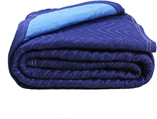 SOMIDE Luxury Blue Moving Blankets, Multi-Purpose for Pet Supplies, Sound Barrier, Hunting and Outdoor