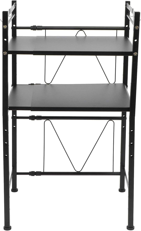 Expandable Microwave Oven Regular dealer Rack 3 Tier Topics on TV Utility S Kitchen Storage