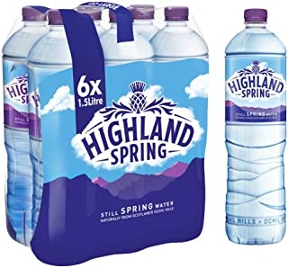 Highland Spring Water Still PET - 1.5 Litre (Pack of 6)