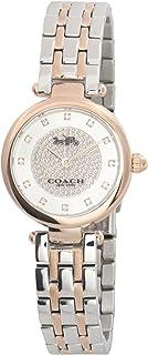Coach Womens Quartz Wrist Watch, Rose Gold Stainless Steel - 14503642