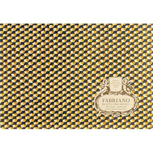 Fabriano Blocco per Artisti 23x31 cm Gr.300 20 Fogli Grana Fine