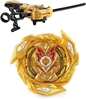 Bay Battling Top Booster B-163 Brave Valkyrie.Ev' 2A Gyro High Performance 4D Bey with LR Launcher & Grip(Gold)