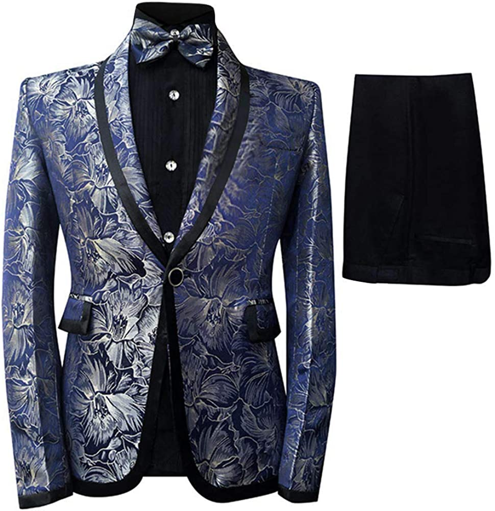 Mens 当店限定販売 2 Piece Dinner Suits Shawl Button Suit Smart ランキング総合1位 Dress Collar 1