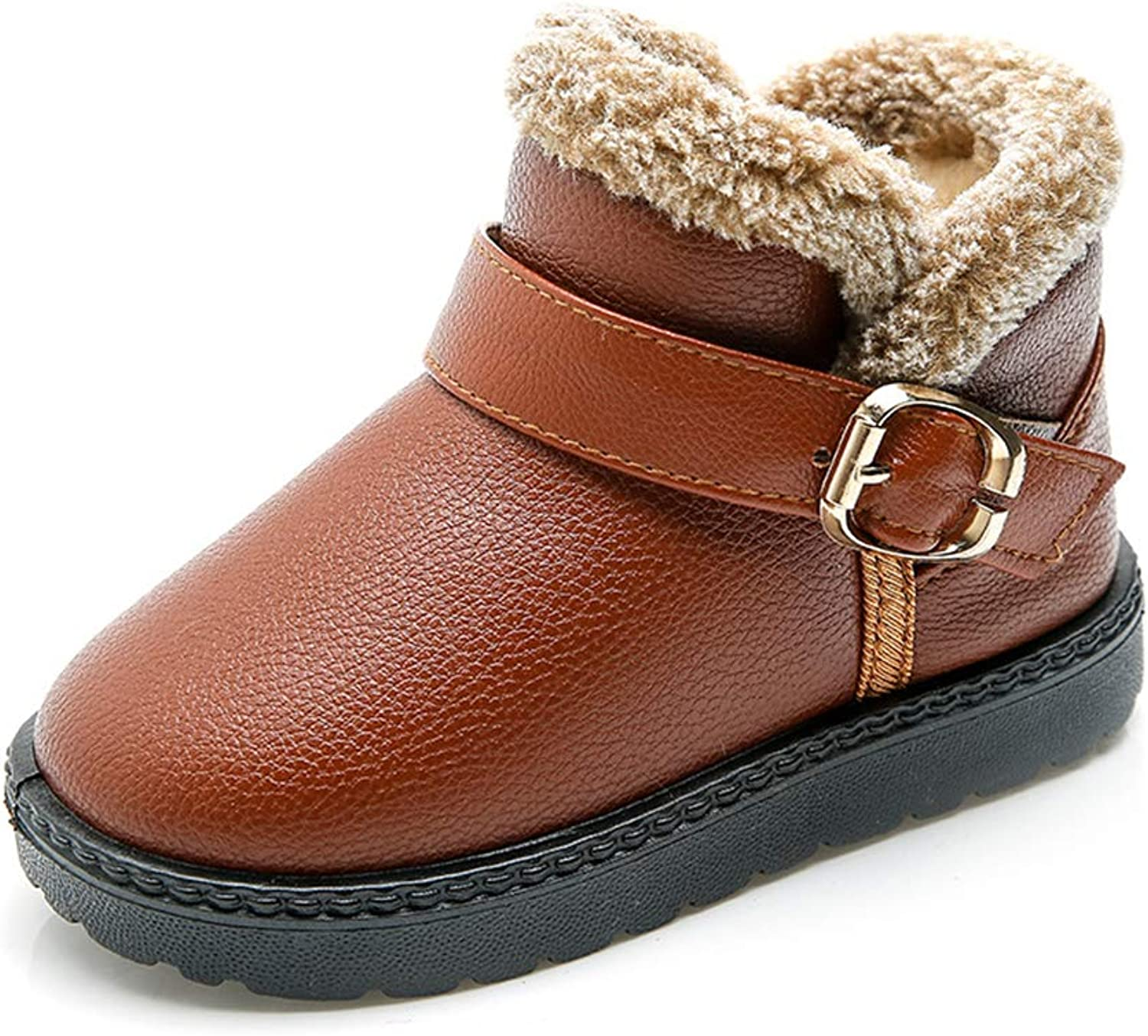 Baby Girls Boys Snow Boots Infant Toddler Winter Fur shoes