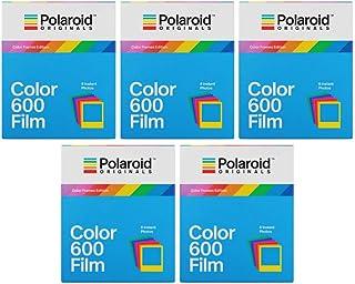 Polaroid original färgramar utgåva omedelbar film för 600 kameror, paket (40 exponeringar)