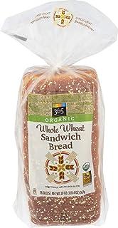 365 Everyday Value, Organic Whole Wheat Sandwich Bread, 20 oz