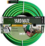 Swan Products SNHR58150 Yard Mate Easy Reel Lightweight Hose 150' x 5/8', Green