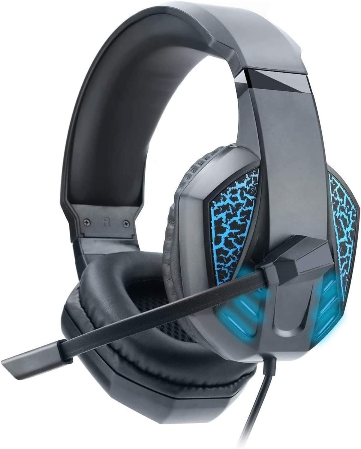 KDLYQ Gaming Headset Max 84% Manufacturer regenerated product OFF for PS4 PC Sound with Surround Noi