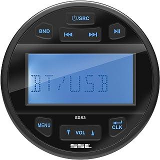 $89 » Sound Storm Laboratories SGR3 Marine Gauge Receiver - Bluetooth, Digital Media (No CD) MP3 Player, USB Port, Aux in, AM/FM...