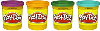 Hasbro Play-Doh 4-Pack of Colors 16 Ounce Total - Purple, Orange, Green, Blue