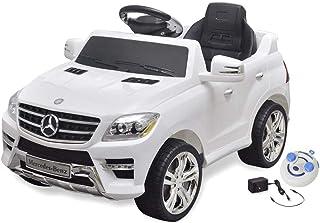 vidaXL Elektrische Auto met Afstandsbediening Wit Speelgoedauto Kinderauto