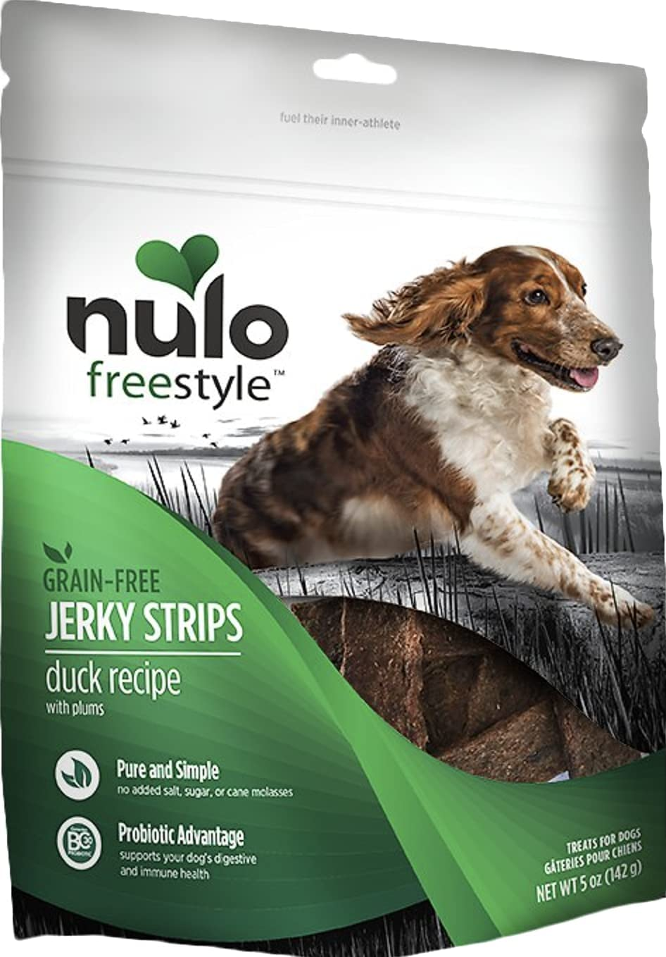 Denver Mall Nulo Freestyle 2 Pack Discount mail order of Grain-Free Treats Dog Strips 5 O Jerky