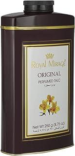 Royal Mirage Original Perfumed Talc For Unisex, 250 gm