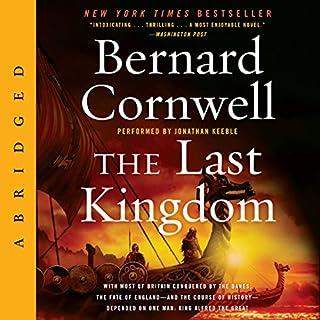 The Last Kingdom audiobook cover art