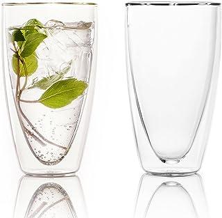 Ferranoダブルウォールグラス2個セット Vico(ヴィーコ)350ml
