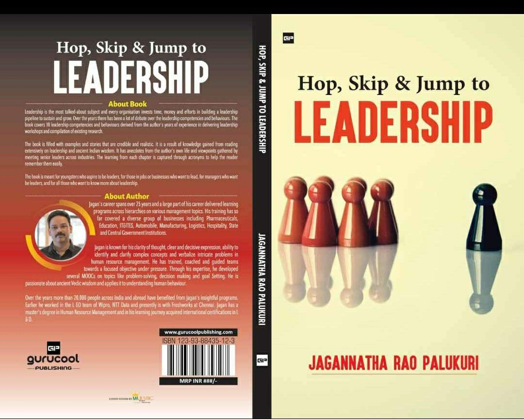 Hop Skip and Jump to Leadership: Simple ideas to make you a better leader