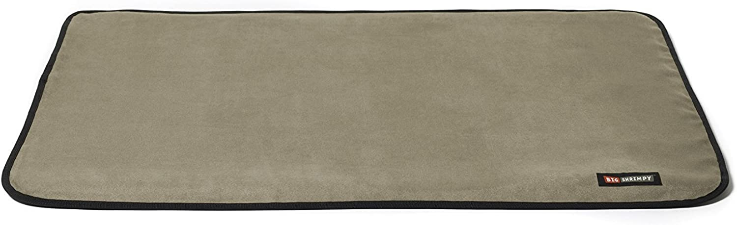 Big Shrimpy Landing Crate Pad, Small, Stone Suede