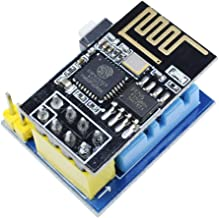 WINGONEER ESP8266 ESP-01S Serial Wireless Transceiver and DHT11 Temperature Humidity Monitor Shield Sensor WiFi Module Adapter Board