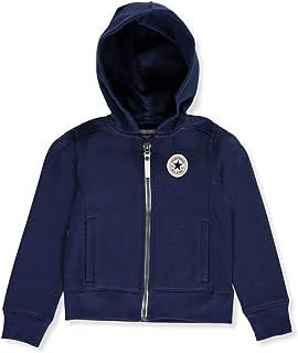 Converse - Sudadera con capucha para niña (talla 4-6X)