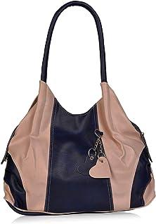 Aisna Women's and Girls Stylish Handbag(ASN-178)(Pink,Blue)