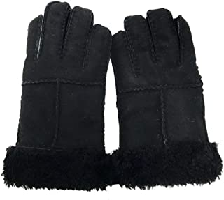 AS UGG Stiching Gloves With Suede #518005