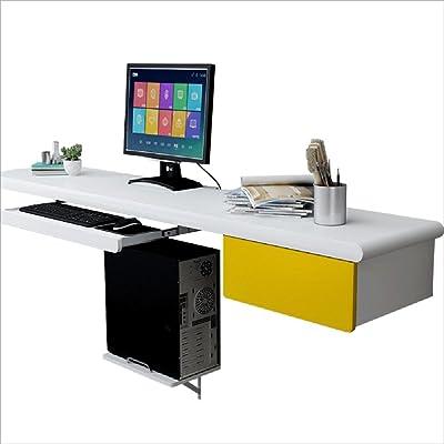 Abitti Escritorio Mesa de Ordenador Multimedia Color Haya, Pata ...
