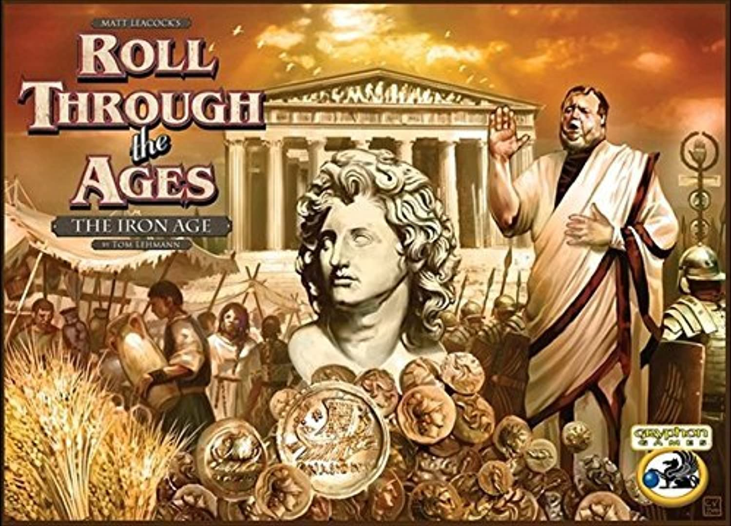 Roll Through the Ages  The Iron Age  Mediterranean Expansion