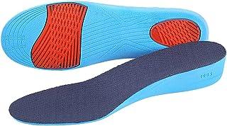 BESTOYARD Par de Plantillas para Pie Plano Plantillas para Zapatos con Alzas Elevadora de Pu Invisible para Mujer 2,3 cm -...