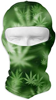 pot leaf ski mask