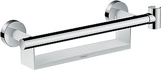 Hansgrohe 汉斯格雅 Unica 舒适手柄,配有搁板和淋浴握把,白色/镀铬
