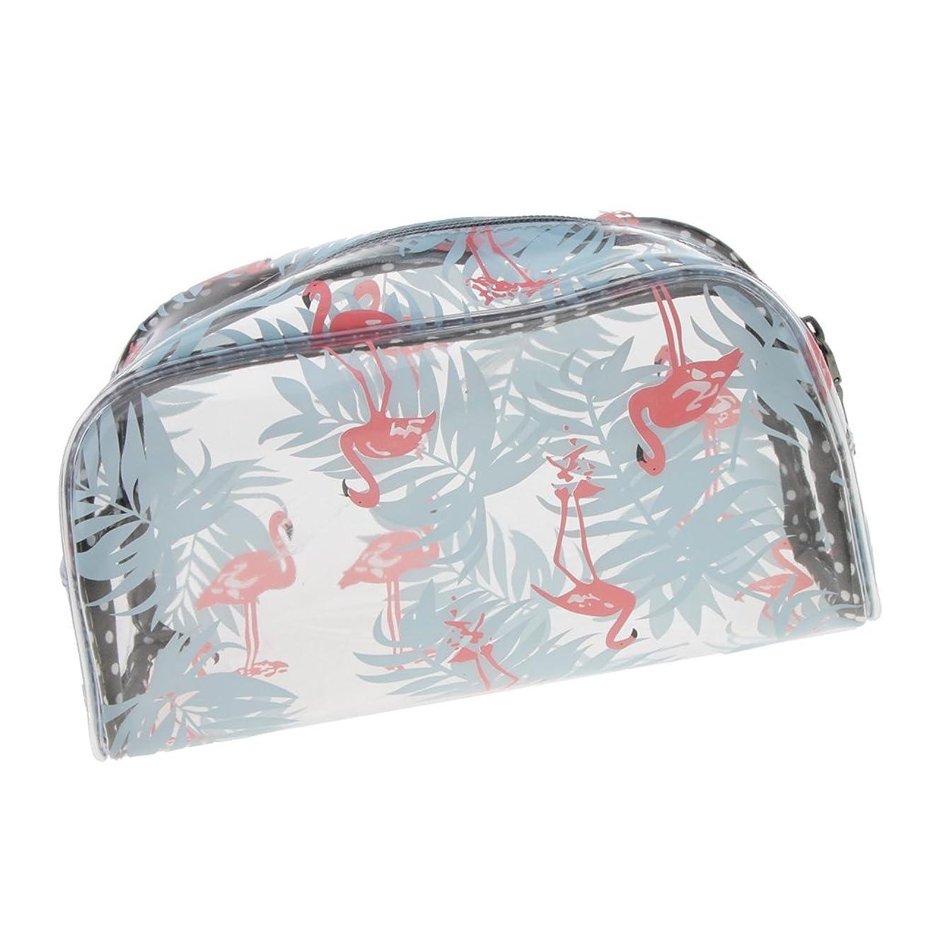 同行歩く隣接明確な透明なプラスチックポリ塩化ビニール旅行構造の化粧品の洗面用品のジッパー袋 - #3